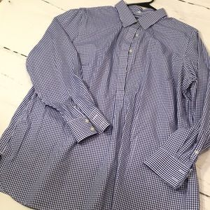 Lands' End Gingham Tunic